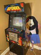 1980 Defender Full Size Arcade Machine By Williams Electronics - Rare