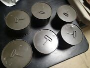 Canister Chemical-biological Mask Aszm-tedac2 Expired Gas Mask Filter Lot Of 6