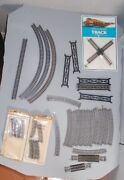 N Scale Train Lot Asst Track Asst Brands. Used As Shown