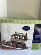 Department Dept. 56 Snow Village Home For The Holidays Express New Incomplete