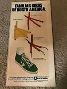 1982 Converse Larry Bird Poster Print Ad All-star Basketball Shoes Boston Celtic