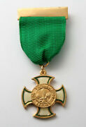 Scouts Of Belize - Scout Leader Commissioner Distinguished Service Cross Gold