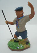 1999 Scouts Of China Taiwan - Scout Leader Bear Figure Figurine / Model 19.5cm