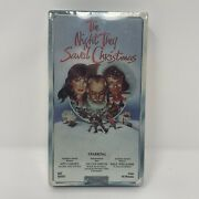 New Vintage The Night They Saved Christmas Vhs Gift Present Movie 1984 Sealed