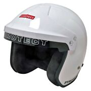 Pyrotect Hw980420 Pro Air Flow Series White Large Open Face Helmet