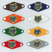 Scouts Of China Taiwan - Wolf Cub Scout Neckerchief Woggle Scarf Slide Set 8