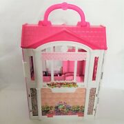 2014 Mattel Barbie Glam Getaway Fold N' Go House Only No Accessories