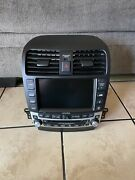 Acura Tsx 06-08 Navigation Stereo Radio Receiver Oem Head Unit Screen Climate