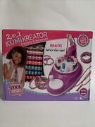 Cool Maker Kumikreator 2 In 1 Bracelet And Necklace Maker + Kumi Fashion Pack