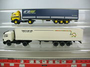 N147-0, 5 Wiking H0 Mercedes Mb Truck/lorry 2 St Bertrandt, Central Trailer