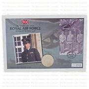 Collection Of 12 Raf First Day Of Issue £5 Displayed In Collectors Album