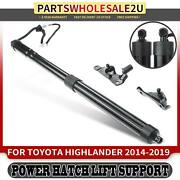 Rear Tailgate Right Power Hatch Lift Supports For Toyota Highlander 14-19 Suv