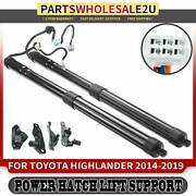 2x Rear Tailgate Power Hatch Lift Supports For Toyota Highlander 2014-2019 Suv