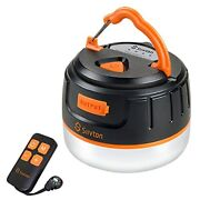 Siivton Camping Lantern Rechargeable Power Bank 6400mahtent Lights For Camping