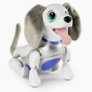 New   Spin Master Zoomer Playful Pup Robotic Toy Dog   25 Tricks Responds 2 You