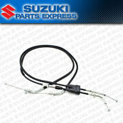 New 1996 - 2020 Suzuki Dr650se Dr 650 Se Oem Throttle Cable Assembly Push And Pull