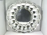 Large Heavy Scalloped Sterling Silver And Co Bowl 58.2 Troy Ounces