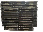 The Agatha Christie Mystery Collection - Lot Set Of 79 Books Bantam Leatherette