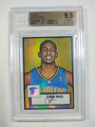 Chris Paul Topps Style 1952 Rookie Chrome Refractor /299 Bgs 9.5 154 Rc 🔥🔥