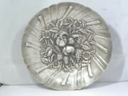 Sterling Silver S Kirk And Son Sterling Silver Repousse Bowl W Fruits 16.95 Toz