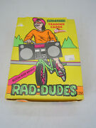 Rad Dudes Trading Cards 1990 Pacific Full 36 Ct. Wax Packs Open Box