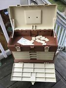 Plano 757 Tackle Box Barely Used Just Set In Storage Still W/stickers