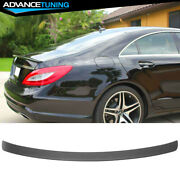 11-17 Benz Cls-class W218 4dr Sedan Amg Style Unpainted Abs Trunk Spoiler