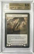 Flesh And Blood Monarch 1st Edition Bgs 9.5 Valiant Dynamo Cold Foil
