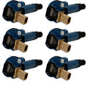 Msd Blue Coil For Ford Eco-boost 3.5l V6 6-pack 3 Pin Connector Reliable