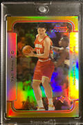 Extremely Rare 1 Yao Ming 2003-04 Bowman Chrome Gold Refractor /50 Htf 34 / 50