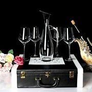 Wine Decanter And Glasses Set Gif Pack Whiskey Bourbon Scotch Rum Tequila Bottle