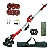 Drywall Sander, 6a 750w Wall/ceiling Sander With Vacuum System, 800-1800rpm 7