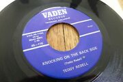Teddy Redell - Knocking On The Back Side Us Vaden 45-110 Rockabilly 7