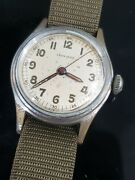 Vintage Leonidas Wwii Military Mens Manual Mechanical Watch In Working Order