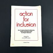 Action For Inclusion By John Oand039brien Marsha Forest And Obrien - 1989 Paperback