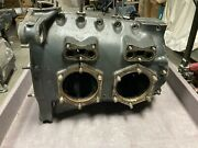 Continental A65 Aircraft Engine Crankcase 6651 6652 With Camshaft