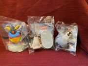 Happy Feet Two The Movie...3 Toys From Burger King...2011 New In Package