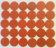100 Complete All 54 Opa Ration Tokens Red And Blue With Mv Most Are Uncirculated