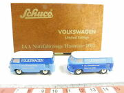 Bd260-0 5 Schuco 190 0597 Set Vw Limited Edition Iaa Hannover 2002 Mint +box