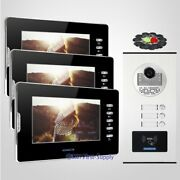 7 Tft Video Door Entry Call Intercom With Dual-way Intercom For Secure Home