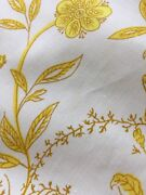Collectible Brunschwig And Fils Yardage Therese Floral Fabric 9 Yards X 46 Inches