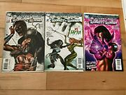 Blackest Night Wonder Woman 123 All Nm 9.4+ Greg Horn Variants Awesome Covers