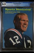 Sports Illustrated Newsstand 1970 Terry Bradshaw Cgc 6.5 First Rookie Cover