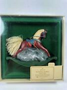 1983 Rocking Horse 3rd In The Series Hallmark Christmas Ornament