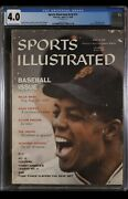 Sports Illustrated Newsstand 1959 Willie Mays Cgc 4.0 First Solo Rookie Cover
