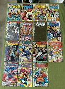 Avengers, Thor Comic Book Lot - Mix Of Silver/bronze/modern Age Vf-nm- Cgc Them