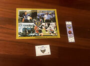 Baltimore Ravens 1996 Ticket Picture Schedule Lot