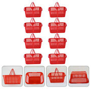 8pcs Grape Containers Plastic Basket Cheery Baskets Fig Baskets For Shop Mall