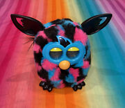 2012 Hasbro Furby Boom----blue, Pink And Black----interactive Pet Toy