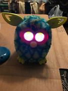 2012 Furby Peacock Blue / Teal / Green / Pink - Tested Works